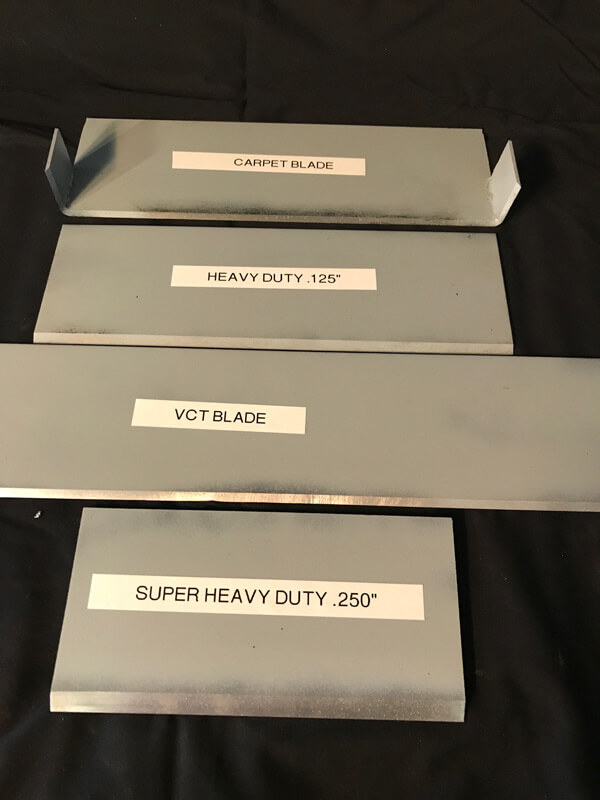 Steel Scraper Blades